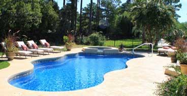 Concrete Pool Deck